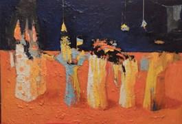 Obraz do salonu artysty Jolanta Caban pod tytułem Martwa natura zukraińskim motywem