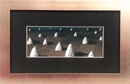 Obraz do salonu artysty Tomasz Lubaszka pod tytułem Kopce III