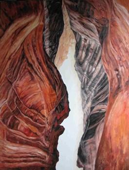 Obraz do salonu artysty Wit Bogusławski pod tytułem The lost way