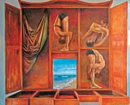 Obraz do salonu artysty Andrzej Wroński pod tytułem Zgubieni