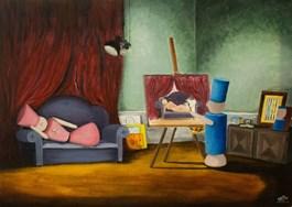 Obraz do salonu artysty Edyta Mądzelewska pod tytułem Zobacz więcej
