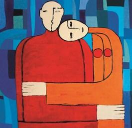 Obraz do salonu artysty Monika Dałek pod tytułem Nie dotykając ziemi
