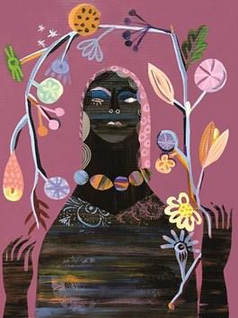 Obraz do salonu artysty Karolina Matyjaszkowicz pod tytułem Zakwitłam IV