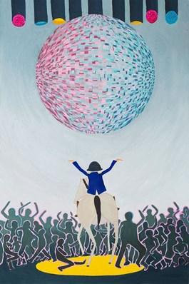 Obraz do salonu artysty Marek Konatkowski pod tytułem Mad