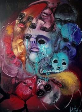 Obraz do salonu artysty Justyna Wojtaś pod tytułem Zadurzenie