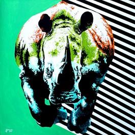 Obraz do salonu artysty Zuzanna Jankowska pod tytułem Atak czy ucieczka?