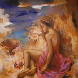 Obraz do salonu artysty Olga Pelipas pod tytułem Południowe słońce