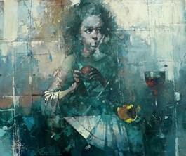 Obraz do salonu artysty Wacław Sporski pod tytułem Magdalena