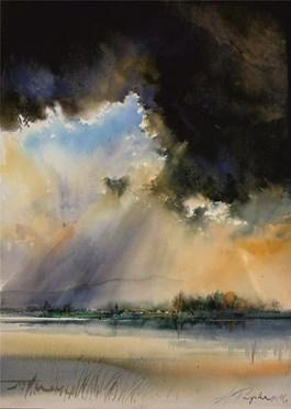 Obraz do salonu artysty Adam Papke pod tytułem Przed burzą