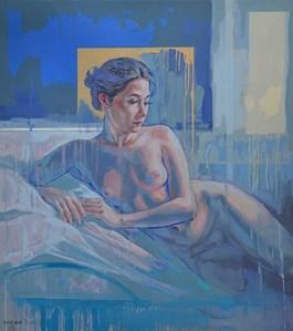Obraz do salonu artysty Marcin Jaszczak pod tytułem Odaliska