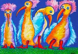 Obraz do salonu artysty Witold Abako pod tytułem Kwartet