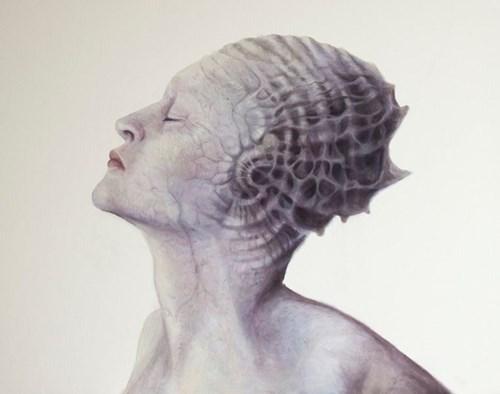 Obraz do salonu artysty Piotr Musiał pod tytułem Bez tytułu