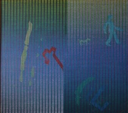 Obraz do salonu artysty Andrzej Jan Bator pod tytułem Od A do B