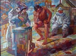 Obraz do salonu artysty Andrzej Wroński pod tytułem Przerwa