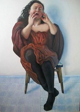 Obraz do salonu artysty Paulina Szczepaniak pod tytułem W brązach