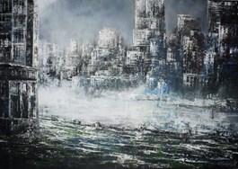 Obraz do salonu artysty Andrzej Fronczak pod tytułem Miejska impresja