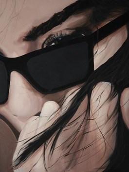 Obraz do salonu artysty Magdalena Partyka pod tytułem I wtedy postanowiła zniknąć