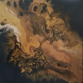 Obraz do salonu artysty Marta Kolarz pod tytułem Przejaw dwunasty
