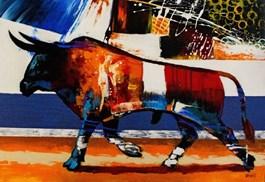 Obraz do salonu artysty Robert Konrad pod tytułem Toro