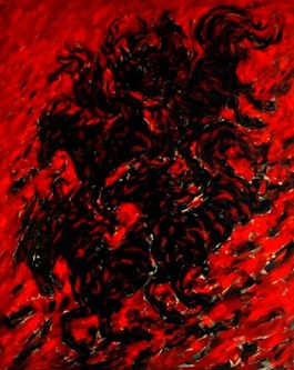 Obraz do salonu artysty Adam Bojara pod tytułem Demony