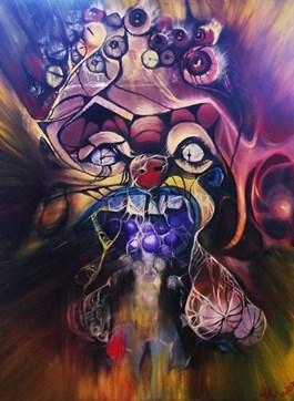 Obraz do salonu artysty Justyna Wojtaś pod tytułem Zatrucie