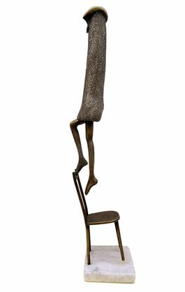 Rzeźba do salonu artysty Krzysztof Kizlich pod tytułem Pina