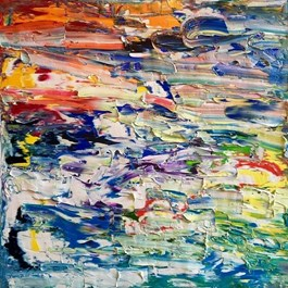 Obraz do salonu artysty Gossia Zielaskowska pod tytułem AIDNAE