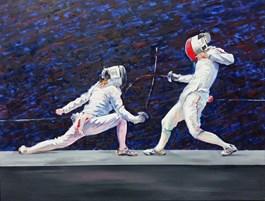 Obraz do salonu artysty Dorota Zych-Charaziak pod tytułem Odwet