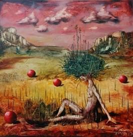 Obraz do salonu artysty Andras Gyorfi pod tytułem Dziecko naszego narodu