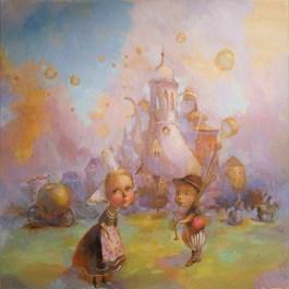 Obraz do salonu artysty Olga Pelipas pod tytułem Apples