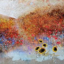 Obraz do salonu artysty Alicja Kappa pod tytułem Poranek