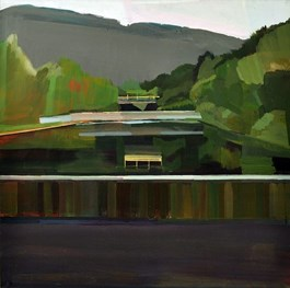 Obraz do salonu artysty Jarosław Szewczyk pod tytułem Landscape II