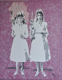 Obraz do salonu artysty Magdalena Szyszkowska pod tytułem Wiek niewinności