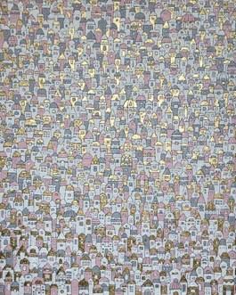Obraz do salonu artysty Joanna Pilkowska pod tytułem Niepoliczalne domki 517