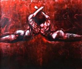 Obraz do salonu artysty Wojciech Pelc pod tytułem Transformacja etap trzeci