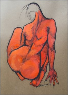 Obraz do salonu artysty Aleksandra Wiszniewska pod tytułem Bliżej siebie