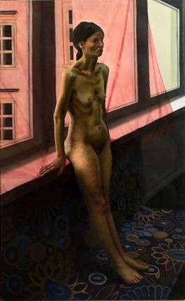Obraz do salonu artysty Martin Imrich pod tytułem Akt