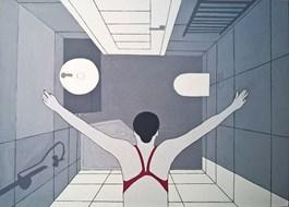 Obraz do salonu artysty Viola Tycz pod tytułem Moje wnętrze