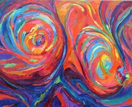 Obraz do salonu artysty Katarzyna Dobrogowska pod tytułem Hipnoza