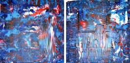 Obraz do salonu artysty Dominik Smolik pod tytułem Konwersja przestrzeni kolorów