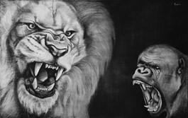 Obraz do salonu artysty Monika Paruzel pod tytułem Gniew