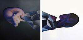 Obraz do salonu artysty Maja Maciejko pod tytułem Ying & Yang
