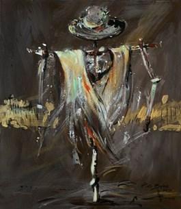 Obraz do salonu artysty Piotr Bubak pod tytułem Złoty