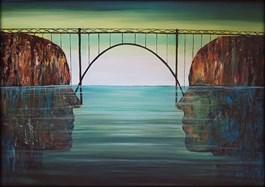 Obraz do salonu artysty Sabina Maria Grzyb pod tytułem Stabilne więzi