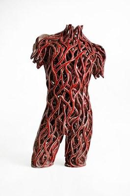 Rzeźba do salonu artysty Zbigniew Blajerski pod tytułem Tors