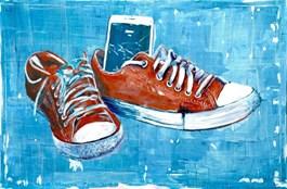 Obraz do salonu artysty Filip Chodzewicz pod tytułem Tożsamość