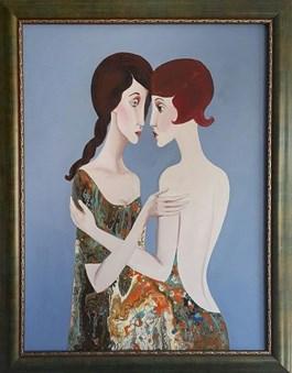 Obraz do salonu artysty Patrycja Kruszynska-Mikulska pod tytułem Meloklimaty