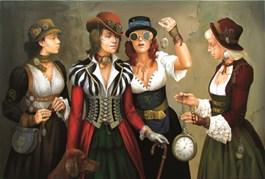 Obraz do salonu artysty Andrejus Kovelinas pod tytułem Time seller