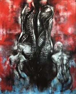 Obraz do salonu artysty Wojciech Pelc pod tytułem Ofiara 2