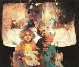 Obraz do salonu artysty Wacław Sporski pod tytułem Pogodny dzień